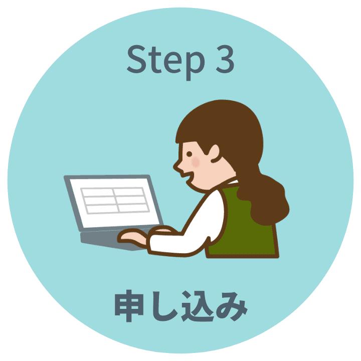 Step3申し込み
